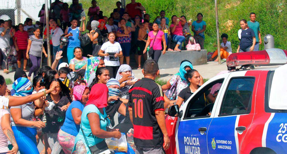 Brasil: un enfrentamiento entre prisioneros deja 42 muertos en una cárcel de la ciudad amazónica de Manaos. (Reuters).