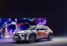 Lexus UX se convierte en el primer auto tatuado del mundo   FOTOS