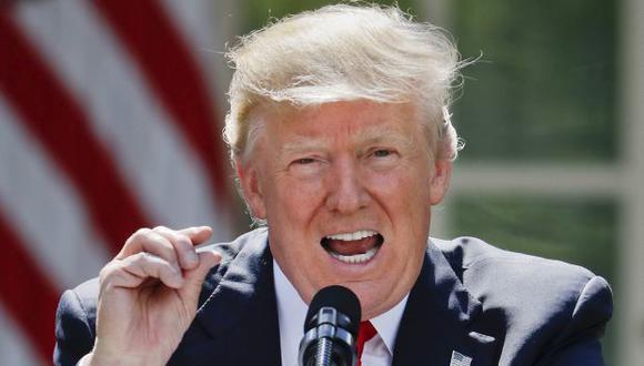 Donald Trump, presidente de Estados Unidos. (Foto: AFP)