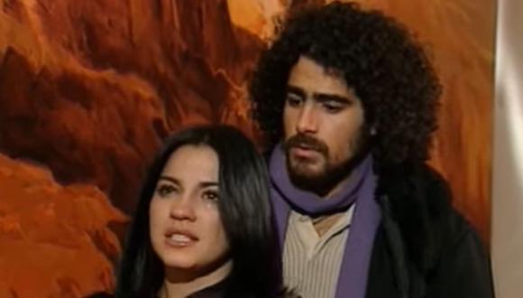 """Nico era el novio de Lupita en """"Rebelde"""". Aquí el momento en el que él le reclama por haber iniciado una nueva relación cuando él se encontraba lejos (Foto: televisa)"""