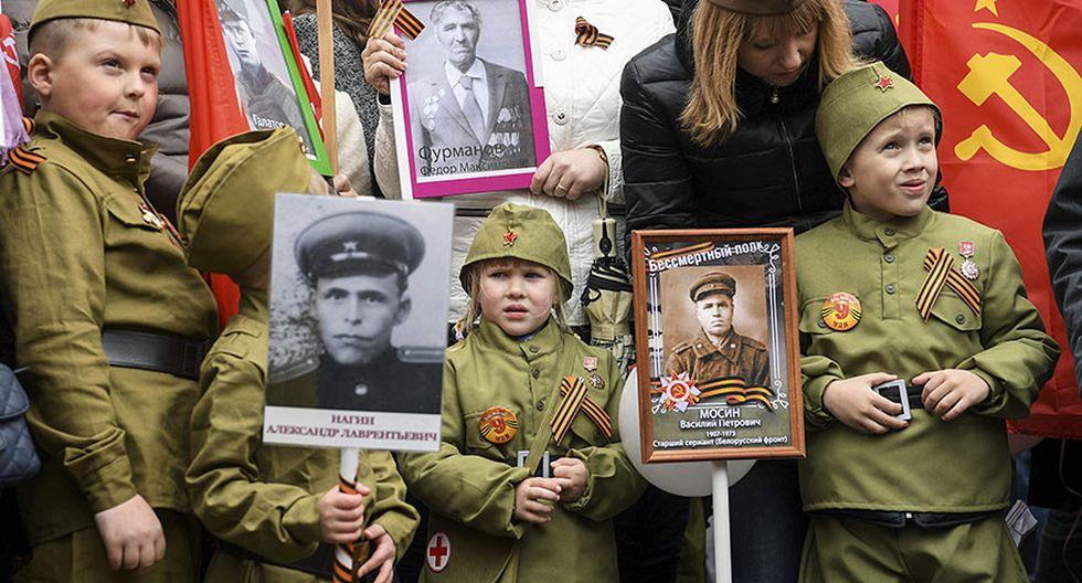 Rusia: El desfile por el Día de la Victoria contra los nazis - 3