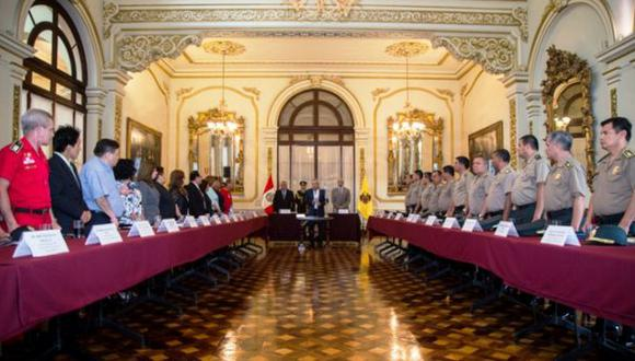 Castañeda juró como presidente de Comité de Seguridad Ciudadana