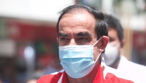 Yonhy Lescano fue candidato por Acción Popular en la primera vuelta. (Foto: GEC)
