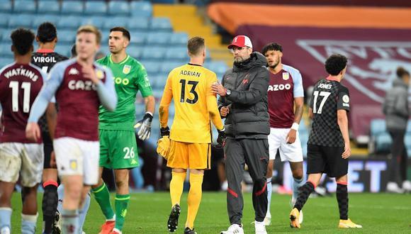 Peligra el duelo vs. Liverpool: Aston Villa confirmó brote 'significativo' de COVID. (Foto: EFE)