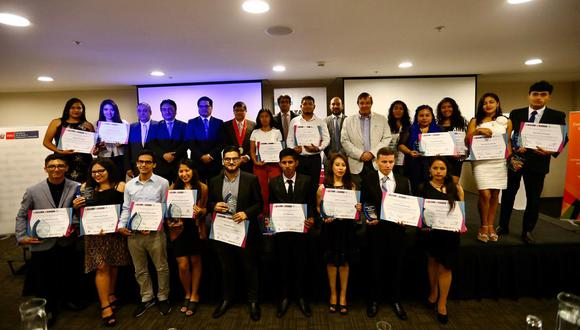 Se reconoció a ganadores de las categorías radial, televisiva y digital. (Foto: Hugo Curotto)