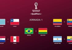 Eliminatorias sudamericanas Qatar 2020: fixture, horarios y más sobre la primera fecha doble