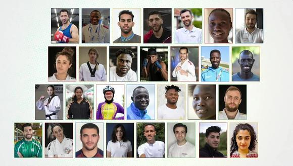 Conoce la historia del Equipo Olímpico de Refugiados creado por el Comité Olímpico Internacional. (Foto: Tokio 2020)
