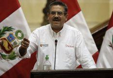 Familiares de Manuel Merino contrataron con el Estado cuando era congresista entre el 2011 y 2016