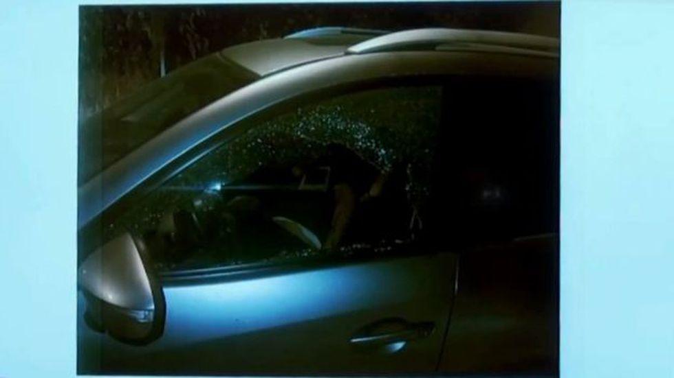 El Richy apareció muerto en la camioneta que testigos reportaron como el vehículo del agresor, según el gobierno. (Gobierno de Veracruz)