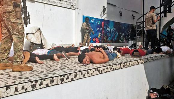 El domingo 12 de enero se hizo una megaoperación en Punta Negra, en la que se detuvo a 124 personas, de las cuales 114 eran extranjeras (Foto: AFP)