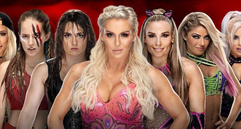 Batalla Real femenina de 30 superestrellas. (WWE)