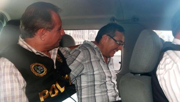 Jorge Cuba fue trasladado al penal de Piedras Gordas