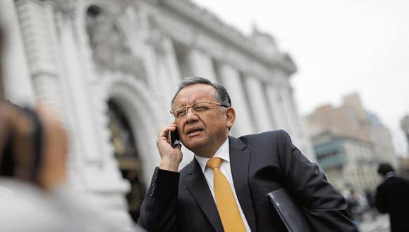 Alarcón pretendería presidir la Comisión de Fiscalización del nuevo Congreso. (GEC)