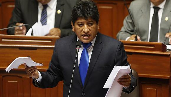 Gana Perú no descarta apoyar otra propuesta para Mesa Directiva