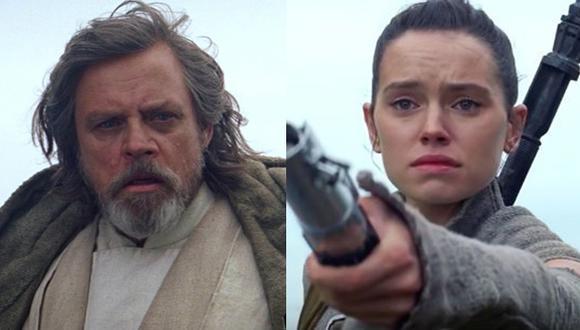 """""""Star Wars"""": revelan qué le dijo Luke Skywalker a Rey"""