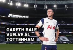 Gareth Bale y Sergio Reguilón fueron anunciados como nuevos fichajes del Tottenham