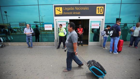 Lima Airport Partners y el MTC afirman que vuelos nacionales e internacionales se desarrollan con normalidad. (Foto: Giancarlo Ávila / GEC)