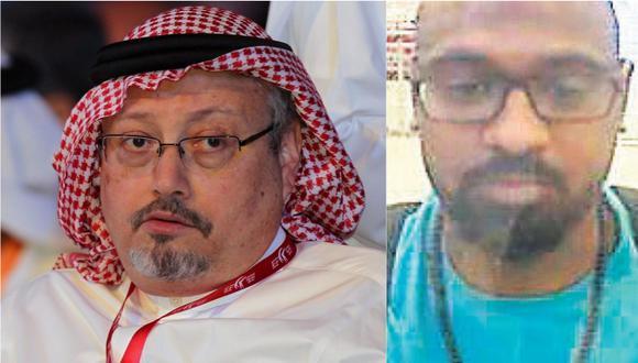 Meshal Saad M Albostani es uno de los ciudadanos saudíes que la policía turca sospecha de estar involucrados en la desaparición del periodista Khashoggi. | Foto: EFE / AFP