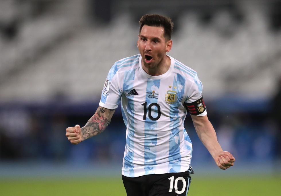 El argentino sumó dicha cantidad de goles tras el Argentina vs. Chile. (Foto: Agencias)