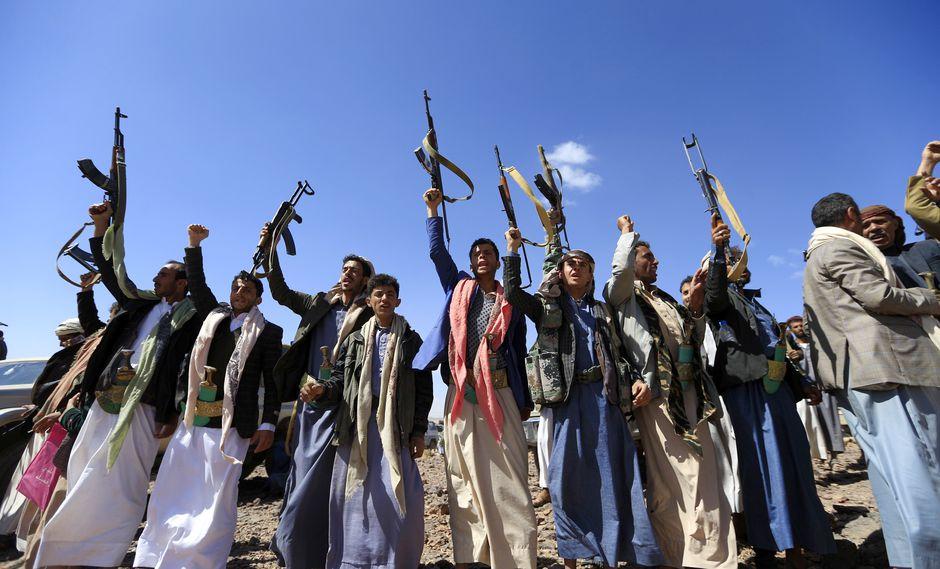 Aprovechando que el gobierno de Abdrabbuh Mansour Hadi atravesaba varios problemas, los hutíes tomaron la provincia de Saada en el norte. Muchos yemeniés terminaron por apoyarlos y, finalmente, los rebeldes tomaron la capital Saná a comienzos del 2015. Foto: AFP