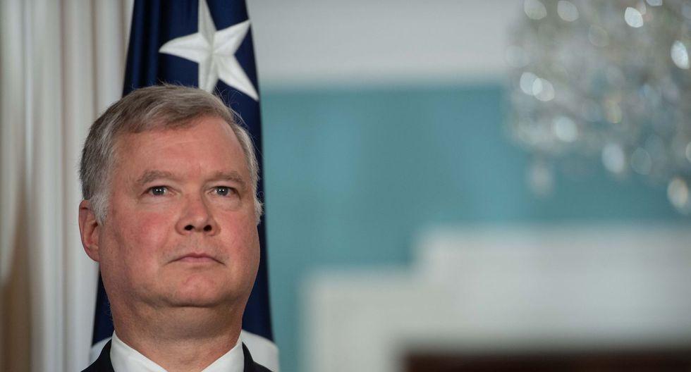 Stephen Biegun, enviado especial de EE.UU. para Corea del Norte. (Foto: AFP)