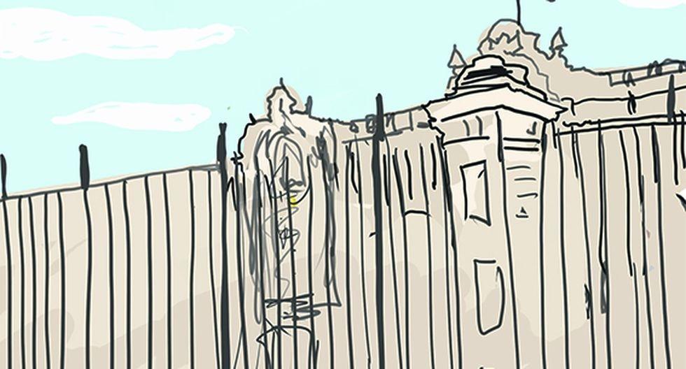 Vida social en Palacio. (Ilustración: Govanni Tazza)