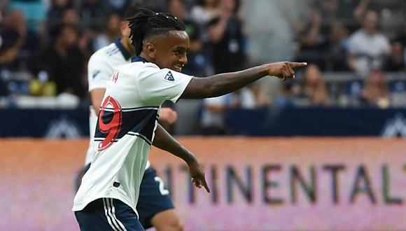 Yordy Reyna marcó el tanto del descuento para el Vancouver Whitecaps en la MLS. (Foto: Reuters)