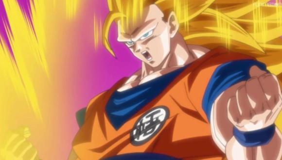 Goku entrega una semilla del ermitaño a Moro.  (@dragonballsuper)