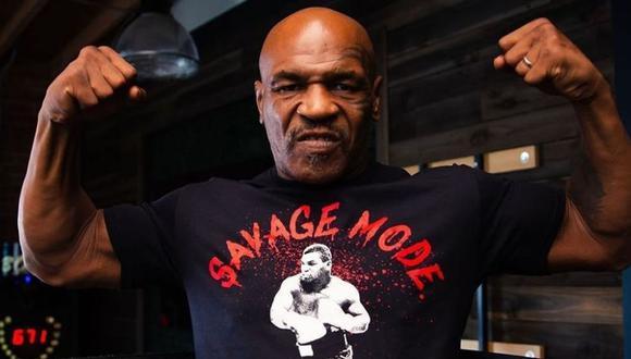 Mike Tyson aseguró que peleará contra Evander Holyfield el próximo 29 de mayo (Foto: @MikeTyson)