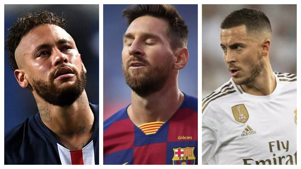 Messi, Neymar, Hazard y los cracks que bajaron su valor en el mercado | FOTOS (EFE)