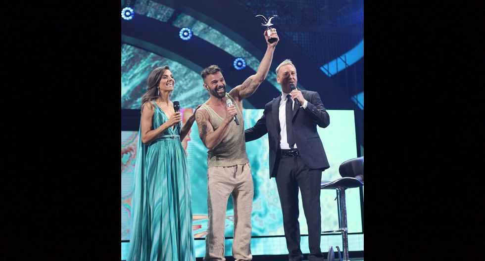 Ricky Martin en Viña del Mar 2020. Foto: Instagram