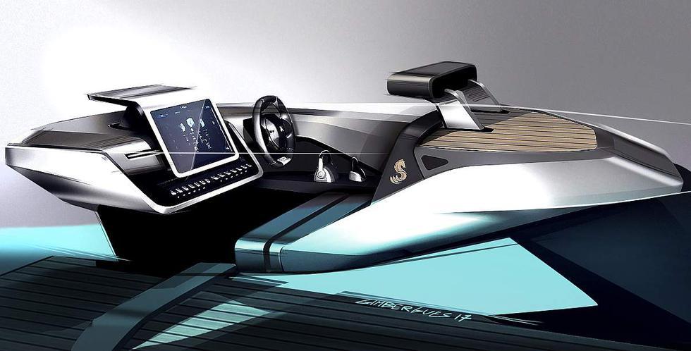 YATE PEUGEOT Sea Drive Concept