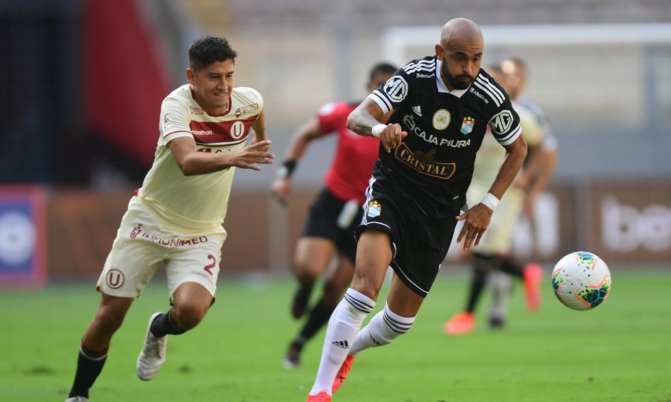 Universitario vs. Sporting Cristal: las imágenes del partido en el Estadio Nacional | Foto: @LigaFutProf