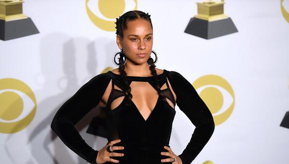 Grammy 2019: Alicia Keys revela que será la anfitriona de la gala con divertido clip en YouTube (Foto: AFP)