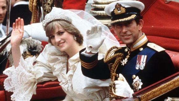 Lo boda real del príncipe Carlos y Diana fue el 29 de julio de 1981. (AFP).