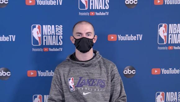 El Comercio pudo participar en la conferencia de prensa de Los Ángeles Lakers