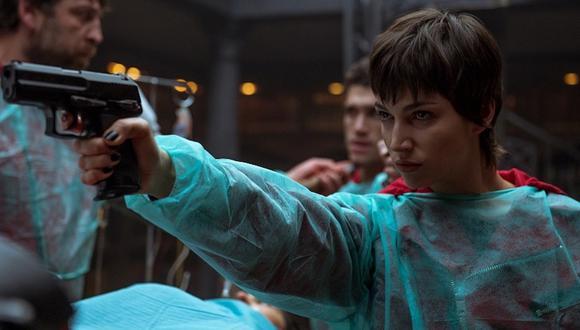 """'Tokio' es una de los personajes con más escenas de acción en """"La casa de papel"""". Foto: Netflix."""