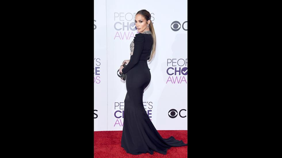 Jennifer López impactó en los People's Choice Awards - 4