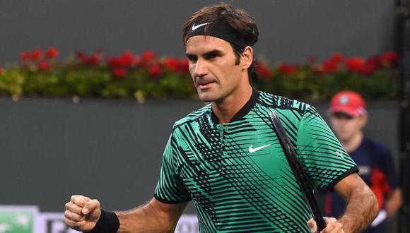 Roger Federer accedió a semifinales de Indian Wells sin jugar