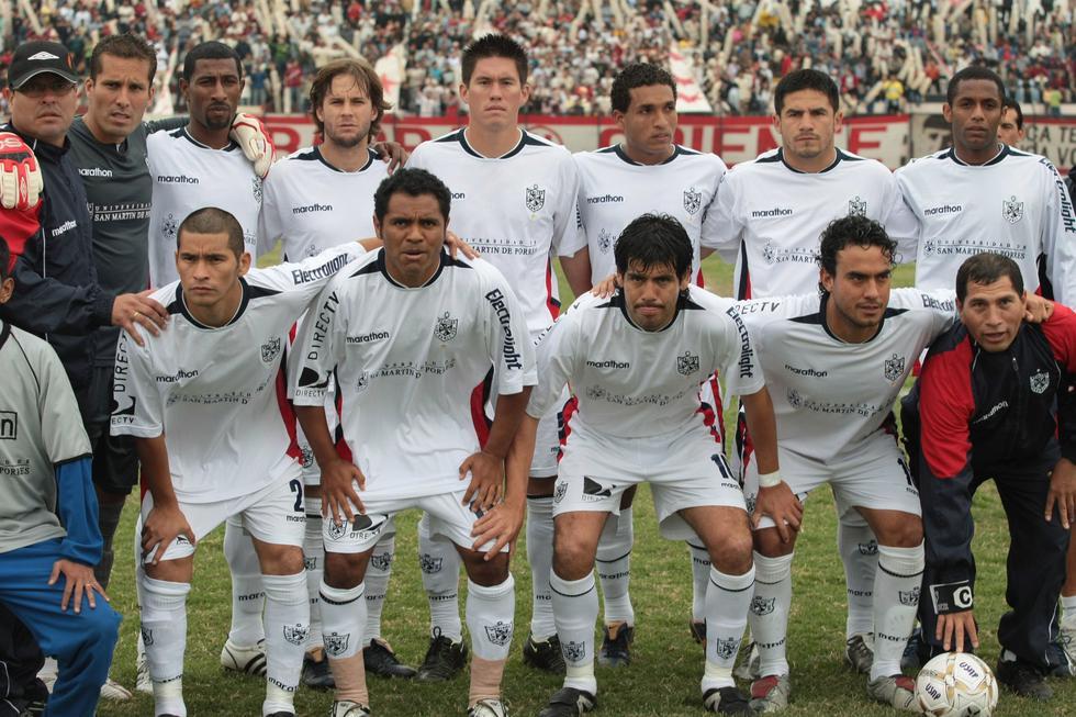 La Universidad San Martín fue campeón nacional en el año 2007, 2008 y 2010. (Foto: USI)