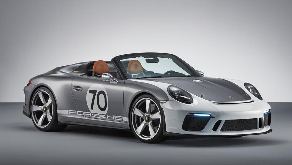 El Porsche 911 Speedster Concept combina una filosofía de diseño retro con una potencia de 500 caballos. (Foto: Porsche).