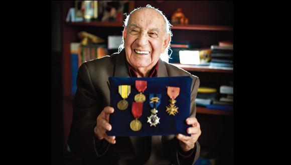 """""""Yo fui uno de los tres peruanos en el desembarco de Normandía"""""""