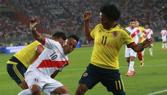 La selección peruana tendría dos choques contra Colombia. (Foto: GEC)