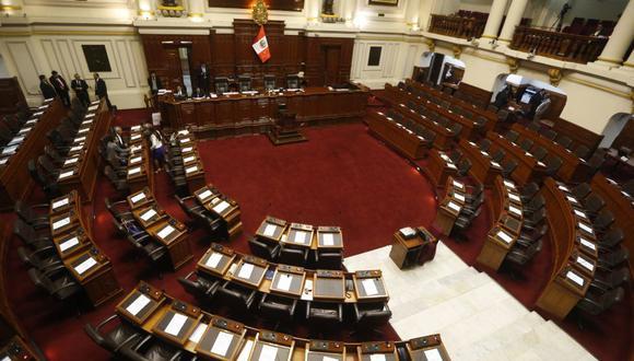 Este lunes 26 de julio, a las 08:00 horas, se llevará a cabo la elección de la Mesa Directiva del Parlamento para el periodo anual de sesiones 2021-2022. (Foto: GEC)