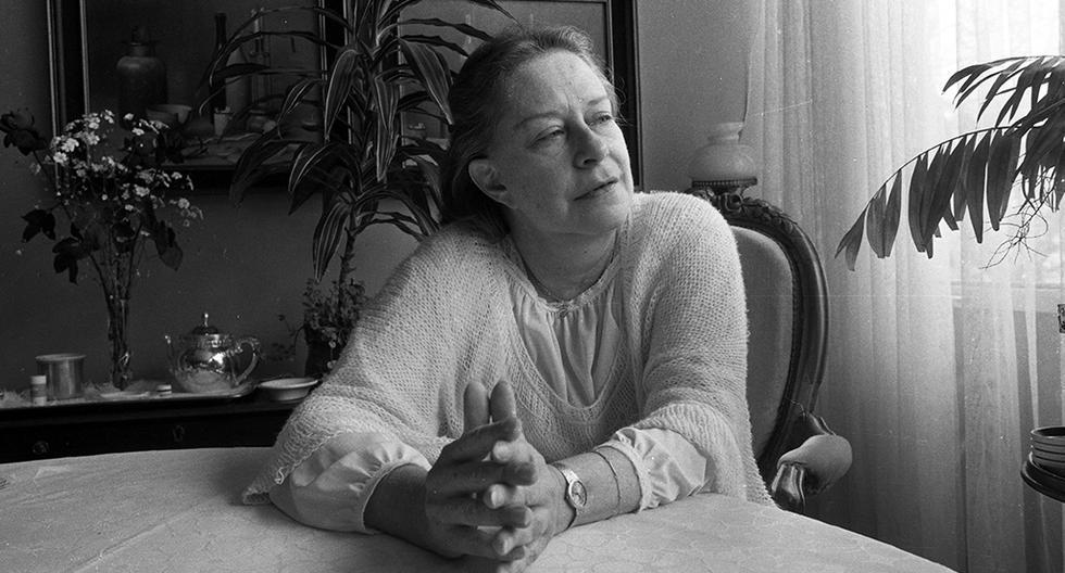Postal de la última entrevista que Chabuca Granda concediera a El Comercio en 1982. Foto: Archivo Histórico El Comercio