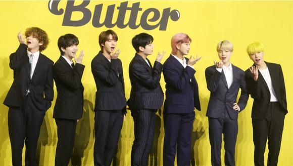 """El nuevo disco """"Butter"""" de BTS ya tiene fecha de lanzamiento. (Foto: AFP)."""