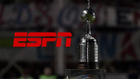 ESPN a través de su canal principal y sus señales ESPN 2 y ESPN Play transmitirá los partidos de Copa Libertadores y Sudamericana 2021
