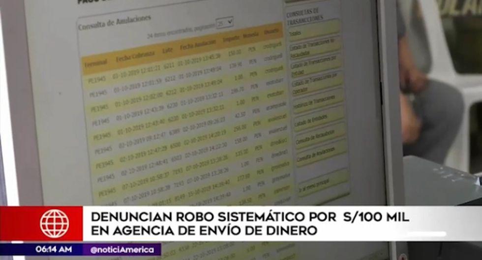El caso es investigado por agentes policiales de la Depincri del Callao. (Foto captura: América Noticias)