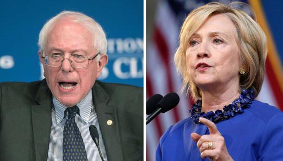 Bernie Sanders, el rival de Hillary Clinton en debate demócrata