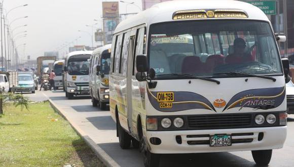 Empresas de transportes de Chosica adeudan más de S/.7 millones